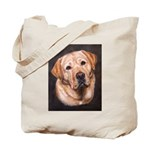 Yellow Lab Painting Tote Bag