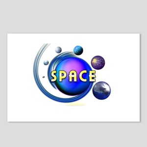 SPACE Postcards (Package of 8)