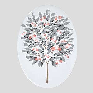 VESPA TREE Oval Ornament
