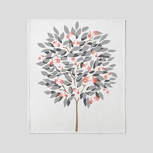 VESPA TREE Throw Blanket