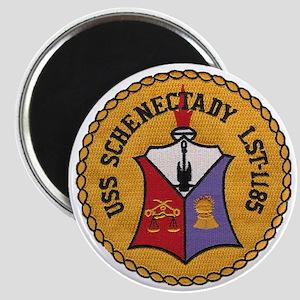 uss schenectady patch transparent Magnet