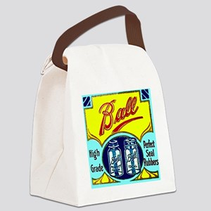 Vintage Ball Ideal Fruit Jar Cann Canvas Lunch Bag