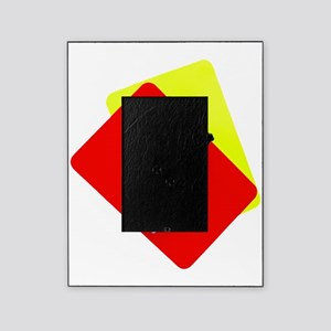 red and yellow card Picture Frame