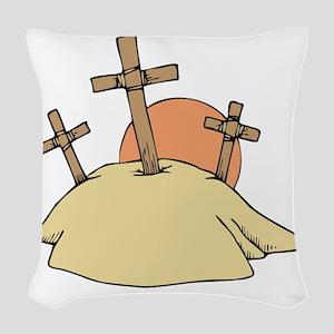 00108_Cross Woven Throw Pillow
