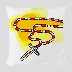 00188_Cross Woven Throw Pillow