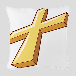00053_Cross Woven Throw Pillow