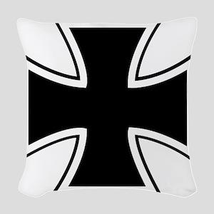 00019_Cross Woven Throw Pillow
