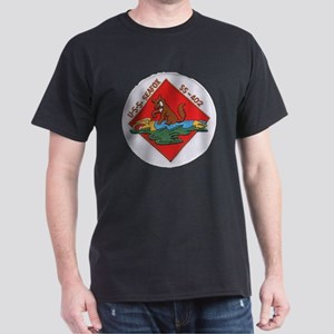 uss sea fox patch transparent Dark T-Shirt