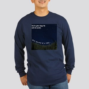 One Second... Long Sleeve T-Shirt