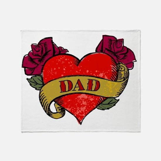 Dear Ole Dad Throw Blanket