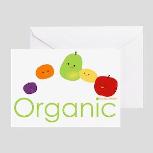 Organic Fruits 2 Greeting Card