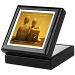 Don't turn your back on the homeless- Keepsake Box