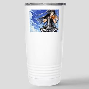 Anime Violin Stainless Steel Travel Mug