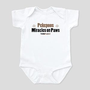 Pekepoo dog Infant Bodysuit