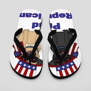 Proud Repuglican Flip Flops