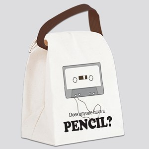 Cassette Canvas Lunch Bag