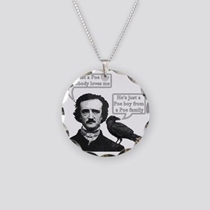 I'm Just A Poe Boy - Bohemia Necklace Circle Charm