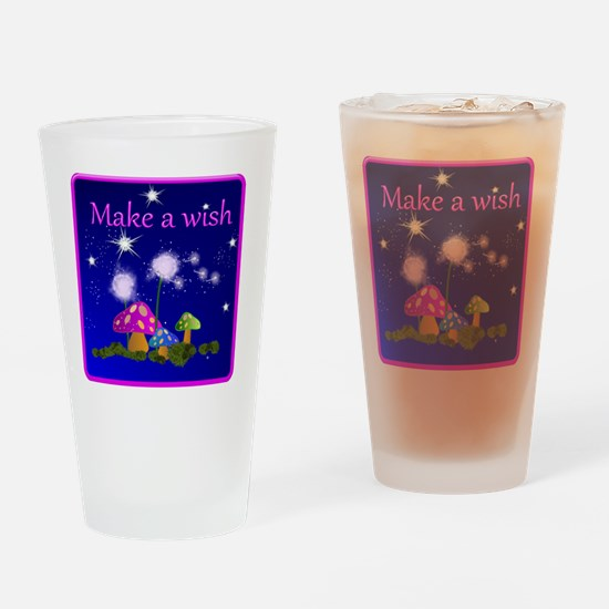 Make a Wish Drinking Glass