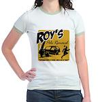 Roy's Pole Removal Jr. Ringer T-Shirt