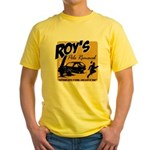 Roy's Pole Removal Yellow T-Shirt