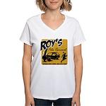 Roy's Pole Removal Women's V-Neck T-Shirt