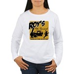 Roy's Pole Removal Women's Long Sleeve T-Shirt