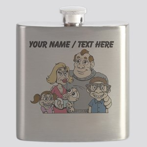 Custom Traditional Family Flask