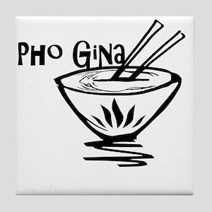 Pho Gina Tile Coaster