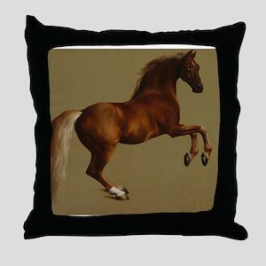 George Stubbs Whistlejacket Throw Pillow