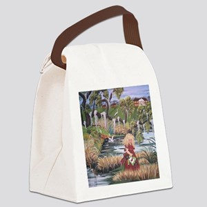 Deep South Honey Child Canvas Lunch Bag