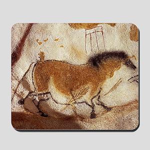 Lascaux Hose Painting Mousepad