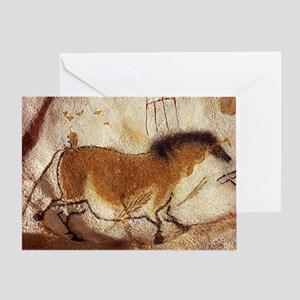 Lascaux Hose Painting Greeting Card