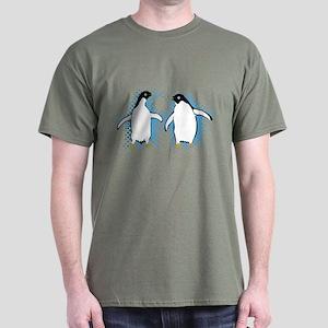 Dancing Penguins Dark T-Shirt