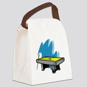 Pool3 Canvas Lunch Bag