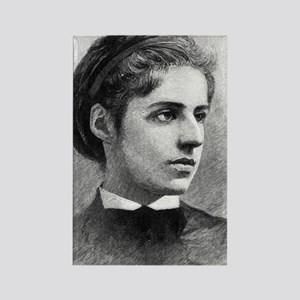 Emma Lazarus 2 Rectangle Magnet