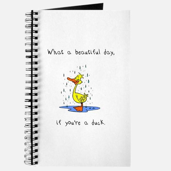 Cute What duck Journal