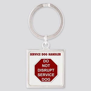 stop sign Square Keychain