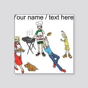 Custom Family Cookout Sticker