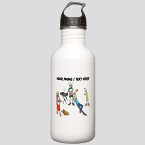 Custom Family Cookout Water Bottle
