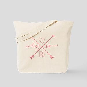 Pi Beta Phi Big Sis Arrows Tote Bag