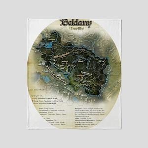 Beldany in the round Throw Blanket