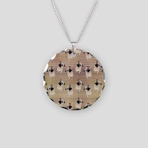 Pug 1 (3) Necklace Circle Charm