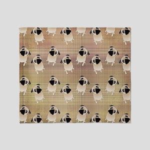 Pug 1 (3) Throw Blanket