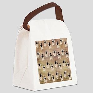 Pug 1 (3) Canvas Lunch Bag