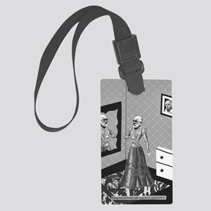 A Good Exercise Large Luggage Tag