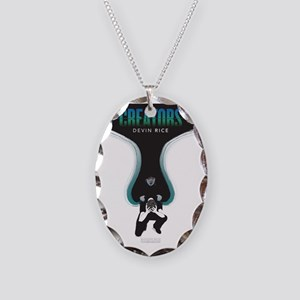 The Creators Cover Necklace Oval Charm