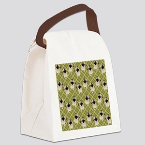 Pug 1 (11) Canvas Lunch Bag