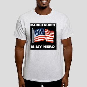ALLEN WEST FLAGDBUTTON Light T-Shirt