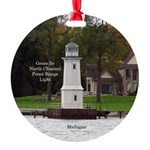 North Channel Front Range Light Round Ornament