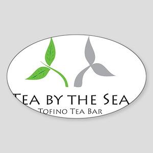 Tea by the Sea Sticker (Oval)